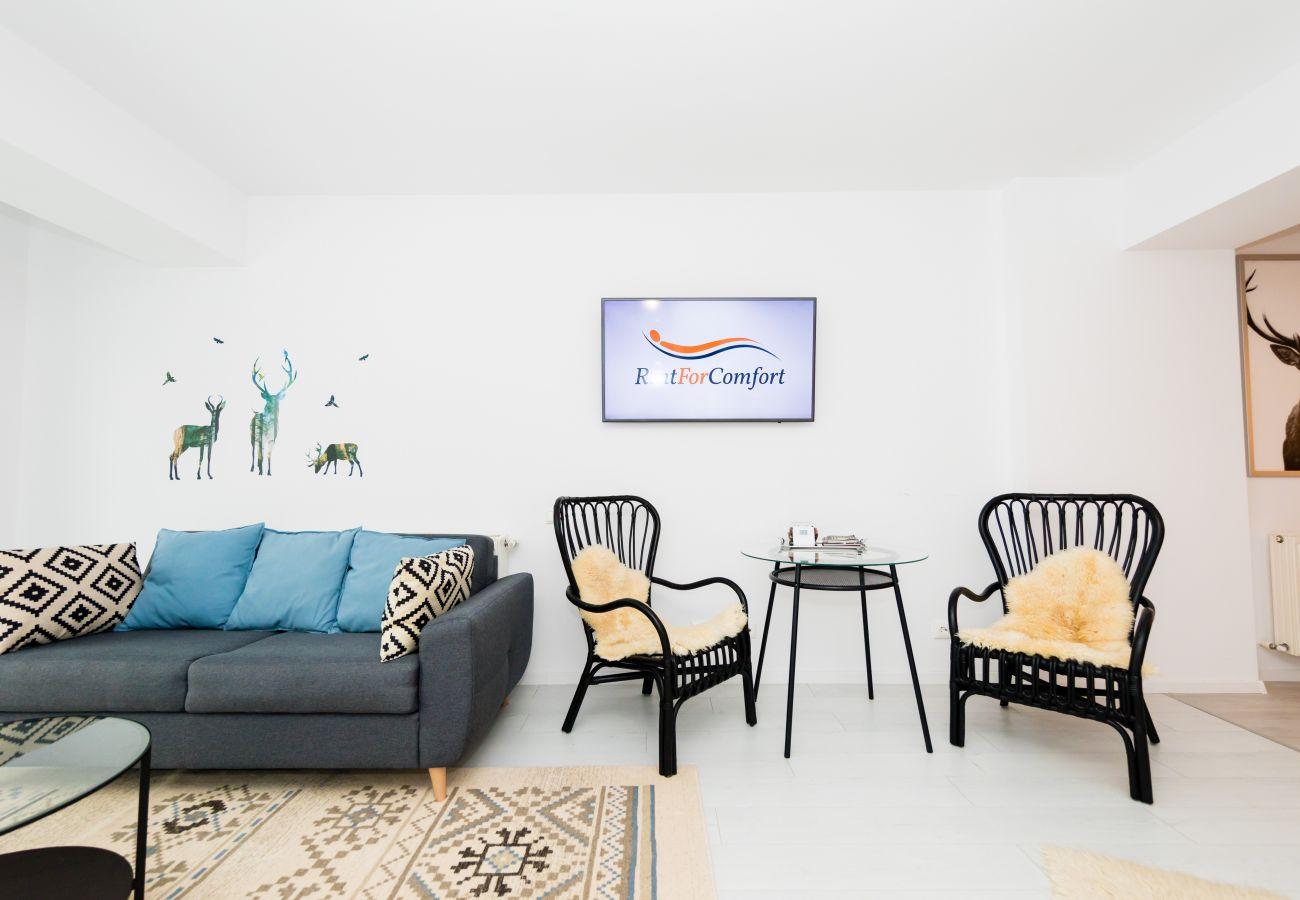 Studio in Predeal - Boutique Studio close to the ski slope Clabucet Predeal