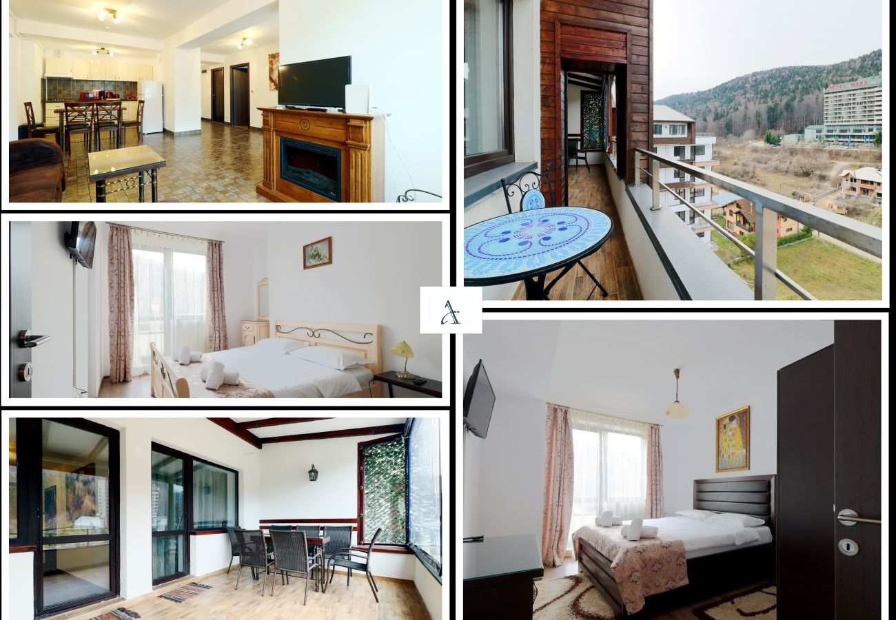 Apartment in Sinaia - Apartment Sofia with mountain view and terrace