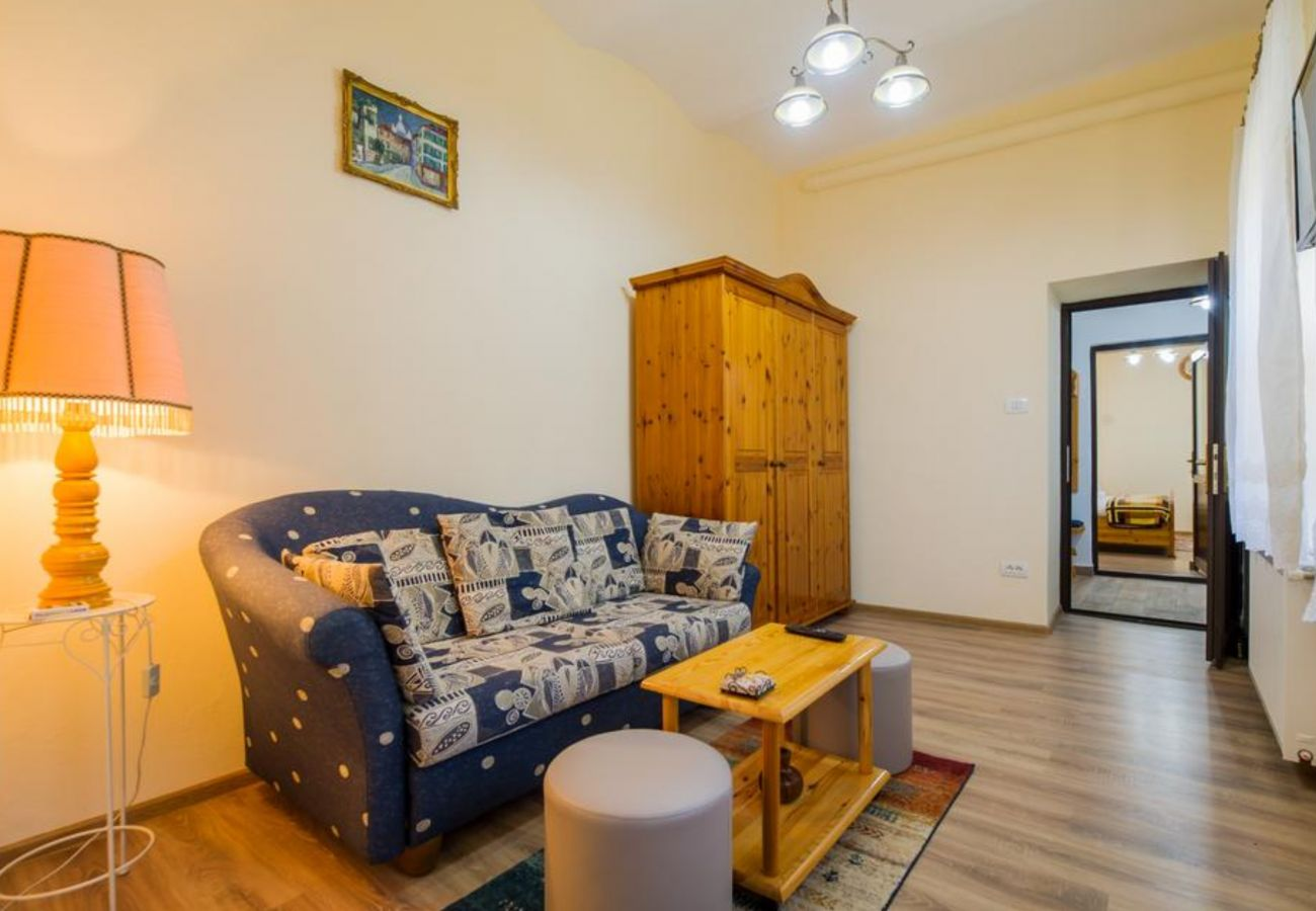 Apartment in Sinaia - Apartment Carol private yard with barbeque and parking