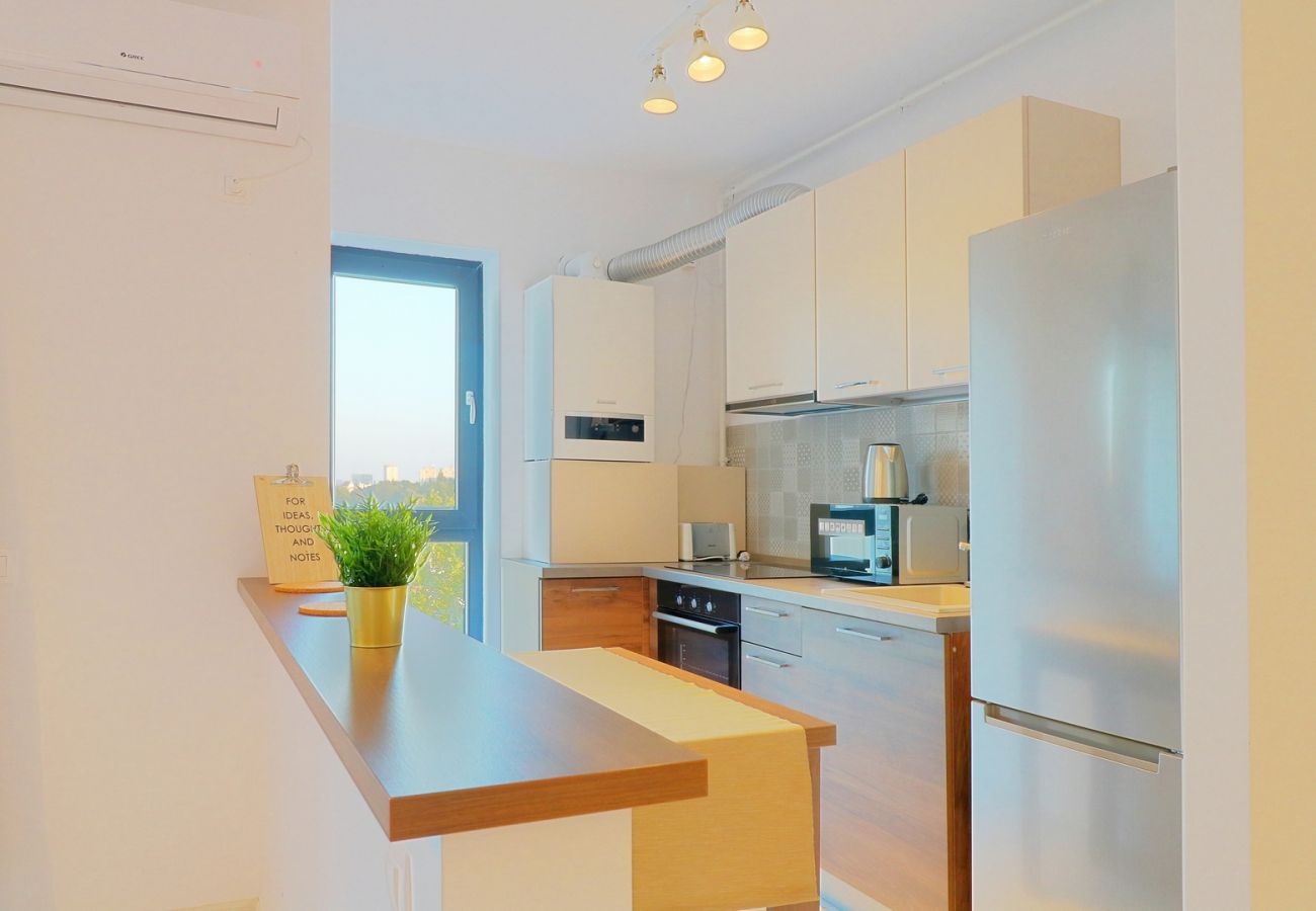 Apartment in Bucharest - Apartment  Maia Sisesti- One Bedroom & Fully kitchen