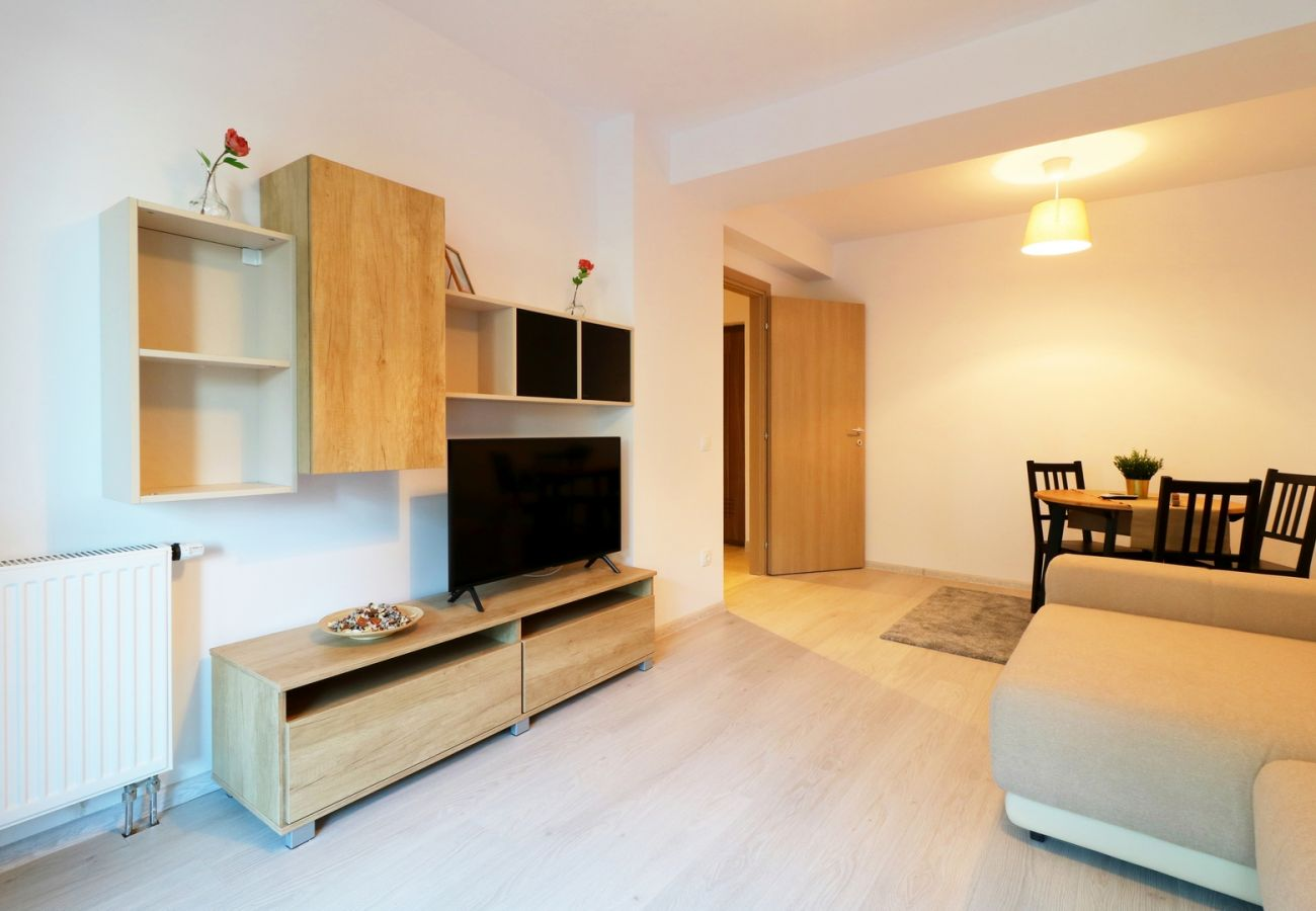 Apartment in Bucharest - Maia Apartment with One Bedroom & Fully kitchen