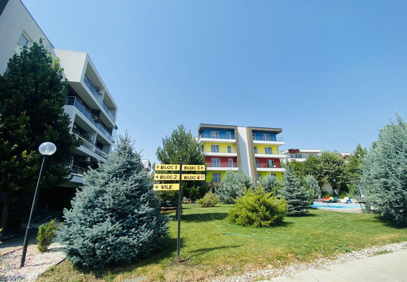 Studio in Otopeni - Modern Studio Flat in Airport Residence - Near Henri Coanda International Airport
