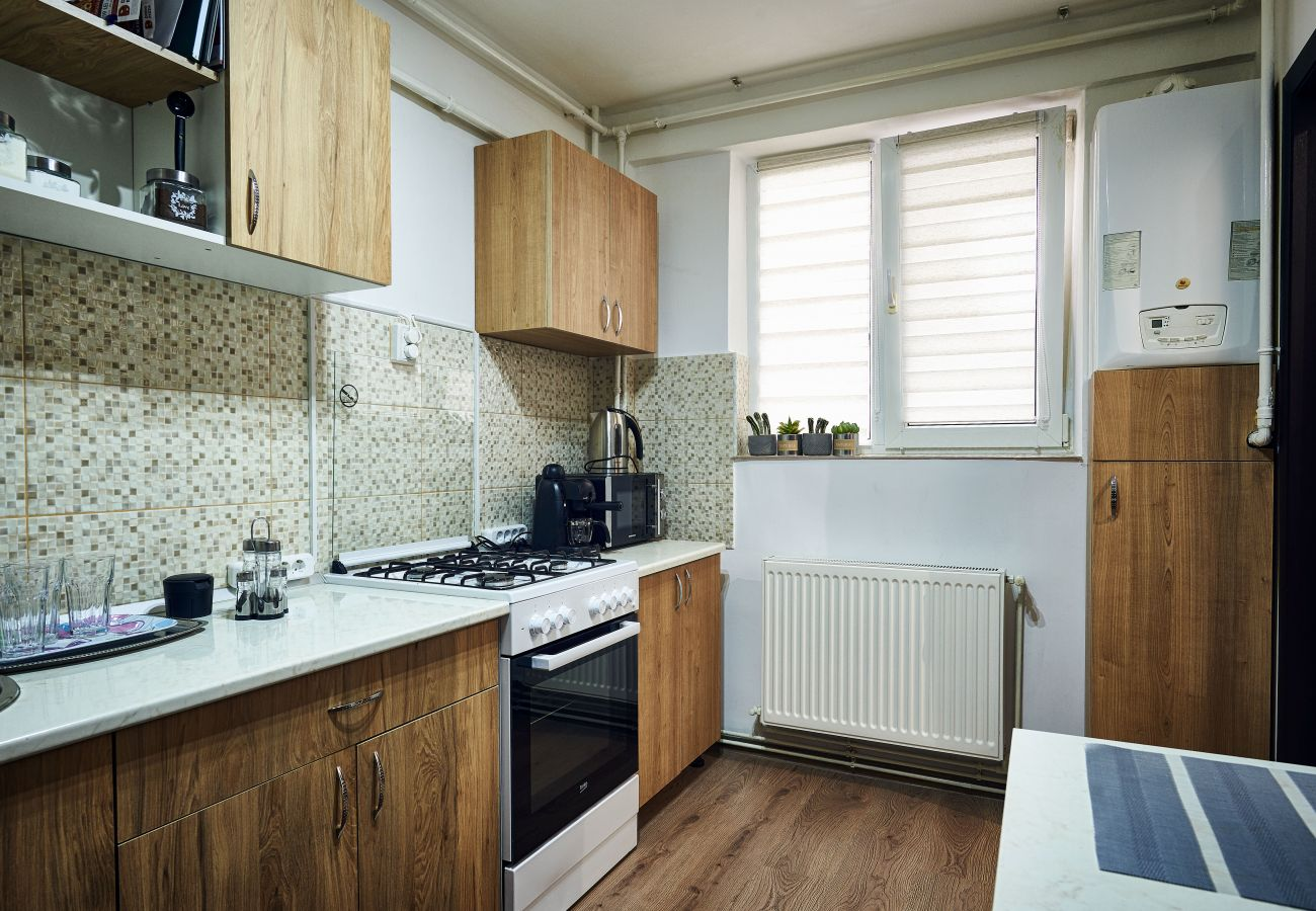 Apartment in Brasov - Equipped and Furnished Apartment with 2 bedrooms close to the center