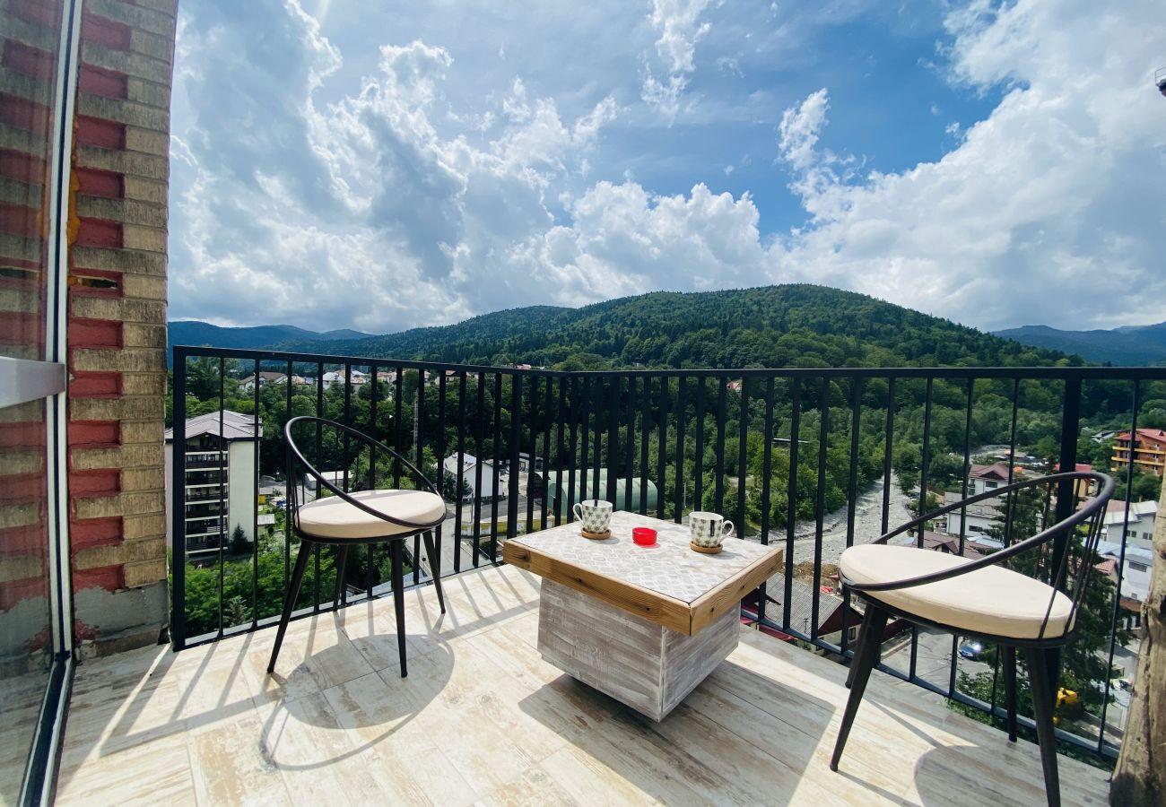 Apartment in Sinaia - Deluxe Apartment with balcony panoramic view